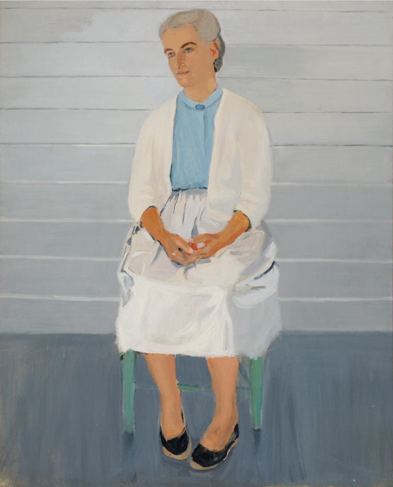 Ann Porter by Fairfield Porter