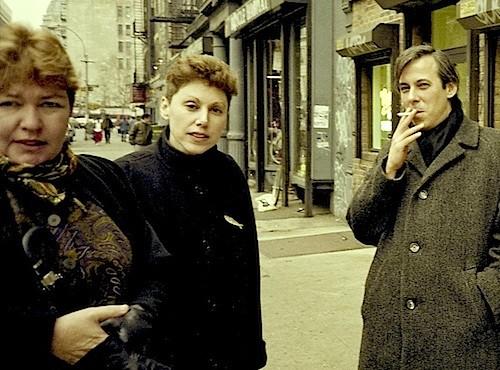 Elaine Equi  Lyn Tranter  David Trinidad 1992 by John Tranter