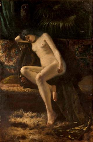 Maria_Gażycz_-_Akt_kobiety_1900