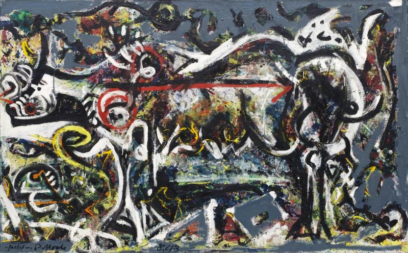 Jackson Pollock  The She wolf  1943