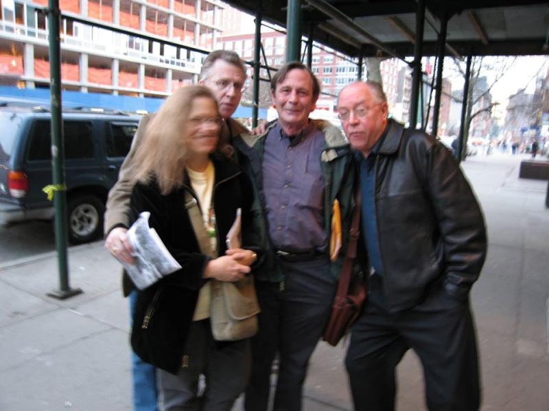 DL  Rika Lesser  Paul Violi  Bill Zavatsky 2005