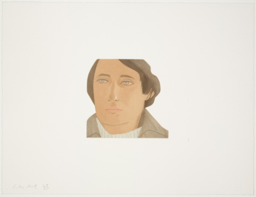 Tony Towle by Alex Katz