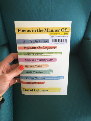 Poems in the Manner Of