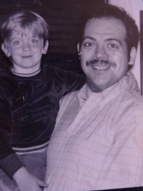 Bob Hershon with his son Jed.