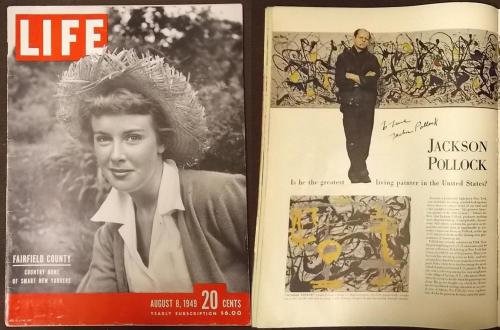 LIFE 1949 Pollock