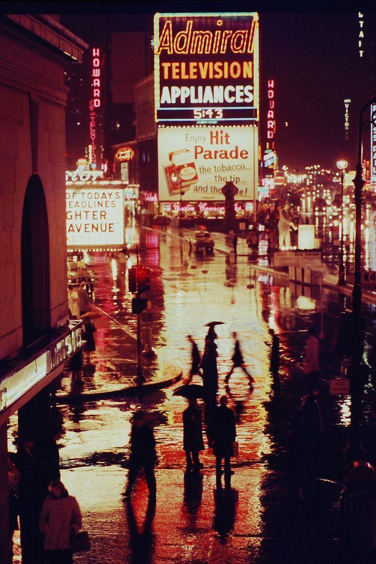 Broadway circa 1957