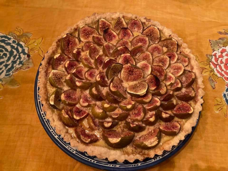 Cooked fig tart 1