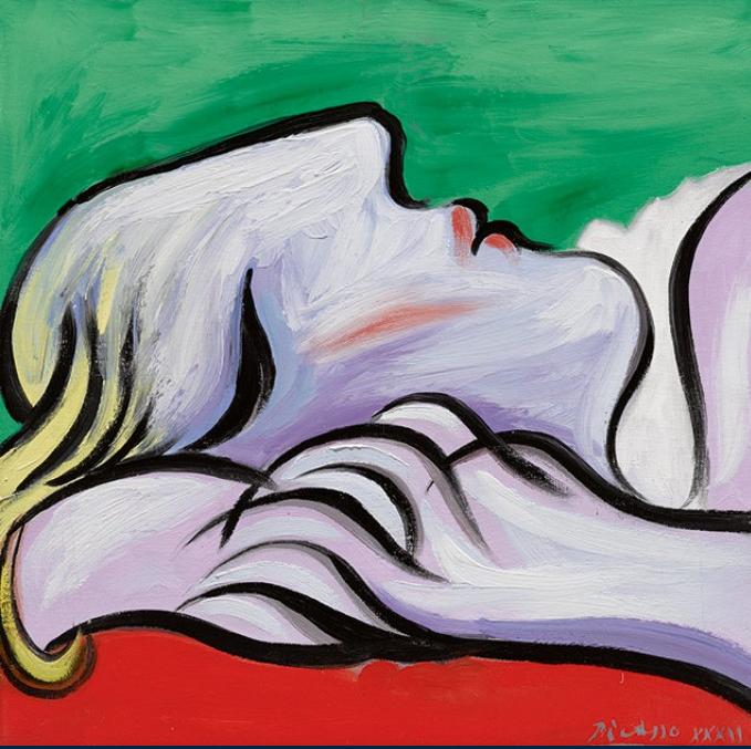 Picasso  Le repos  1932