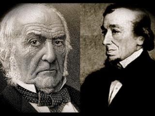 Disraeli and Gladstone