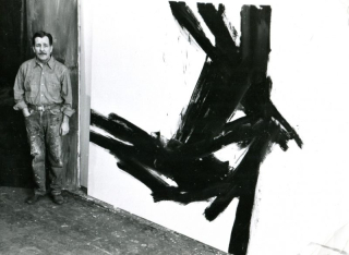 Franz Kline and painting