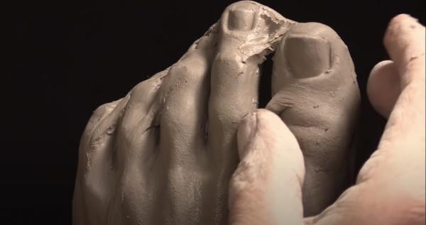 Sculpting Feet