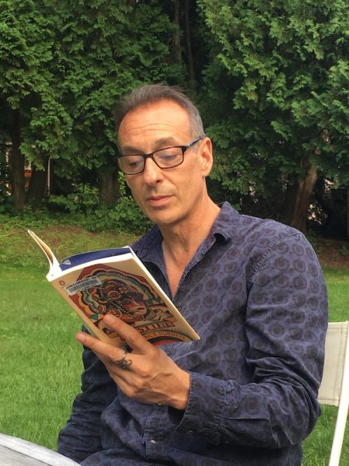 John reading