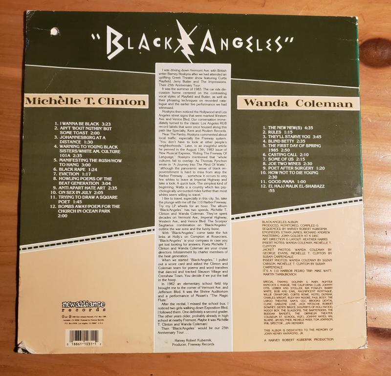 Black Angels Michelle T. Clinton Wanda Coleman 2