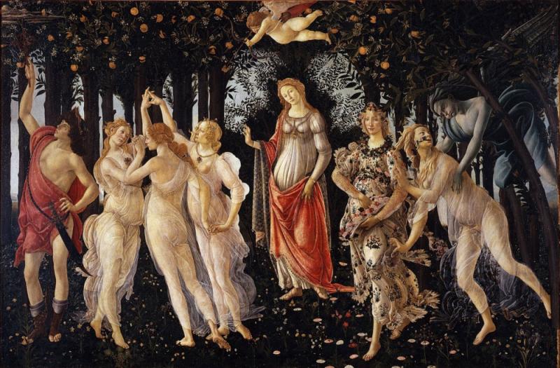 Botticelli 'Primavera'