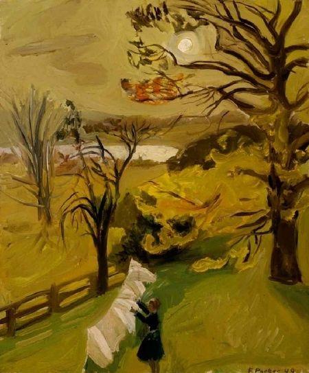 Fairfield Porter Auutmn Morning 1949